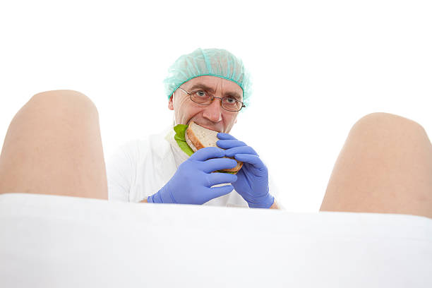 obstetrician stock photo