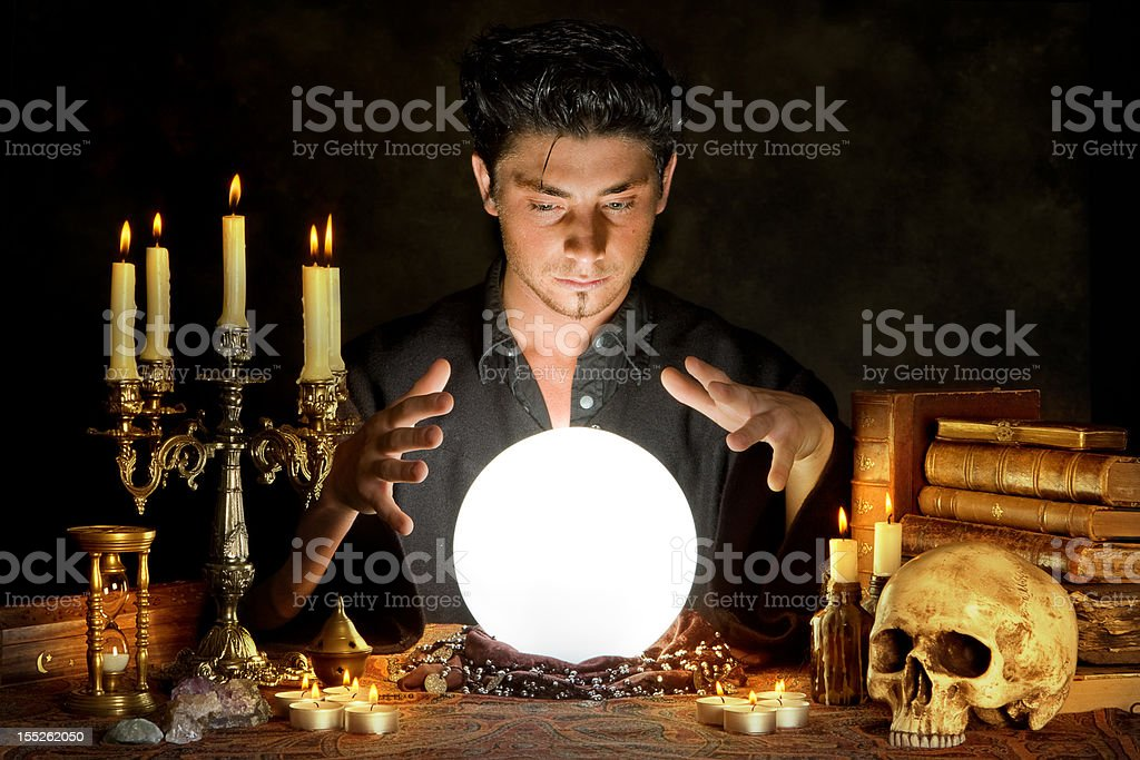 Occultism stock photo