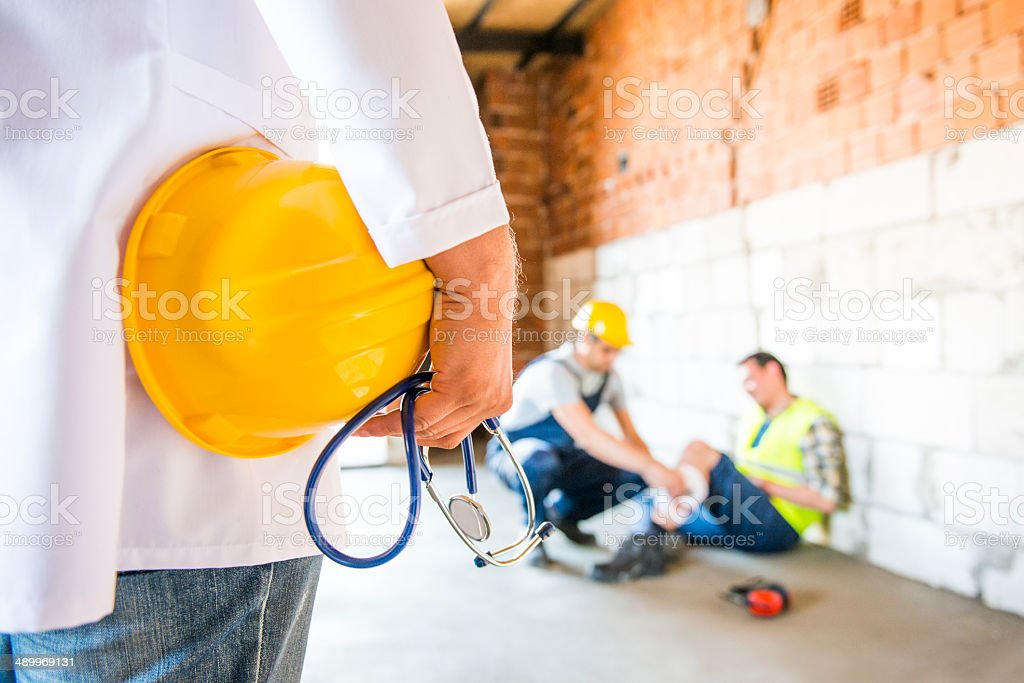 occupational health stock photo