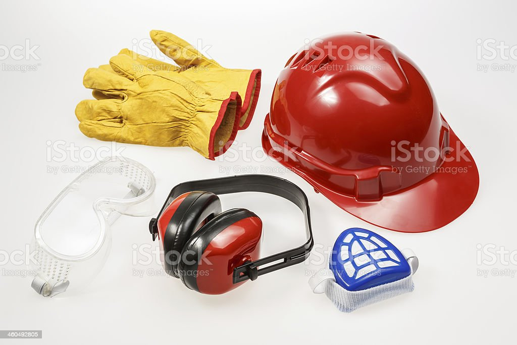 Occupational Safety and Health Equipment stock photo