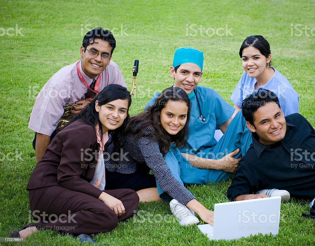 Occupations 1 royalty-free stock photo