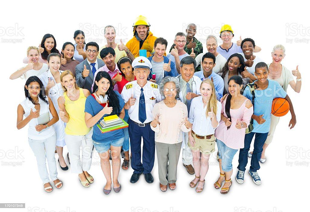 Occupations royalty-free stock photo