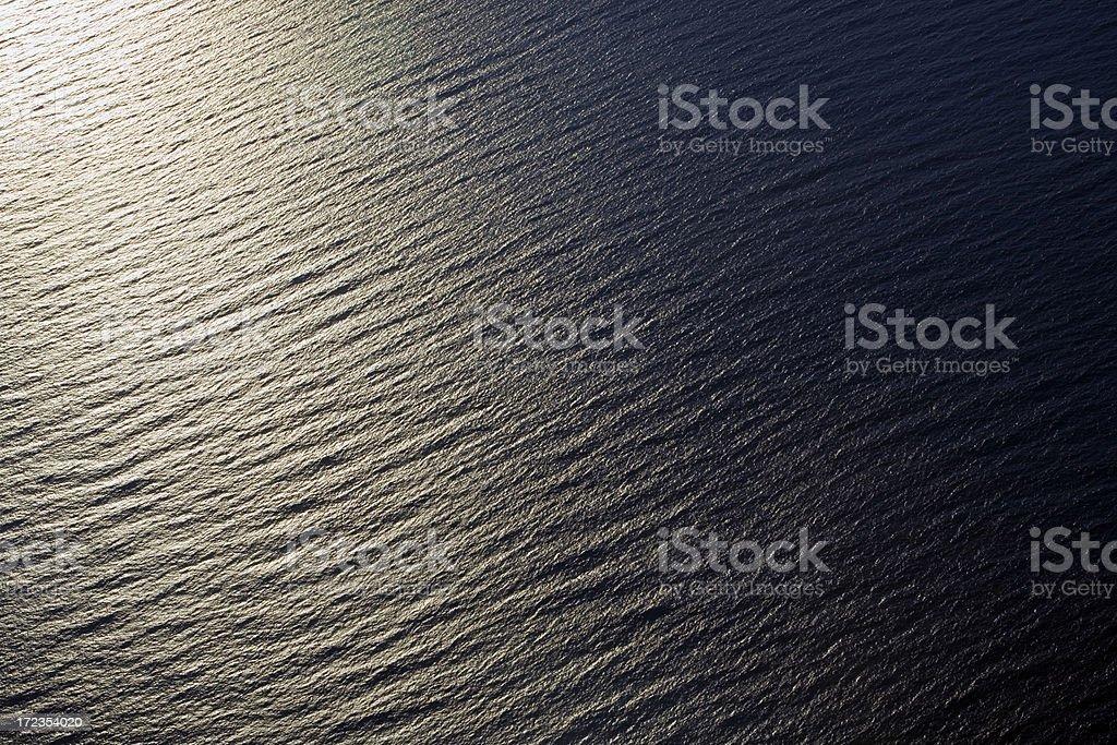 Ocean Aerial royalty-free stock photo
