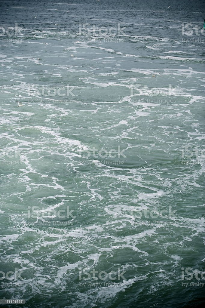 Ocean background royalty-free stock photo