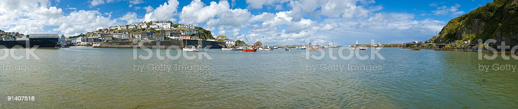 Ocean bay harbor royalty-free stock photo