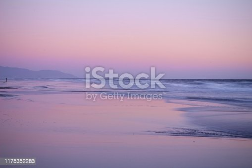 Ocean Beach at Sunset