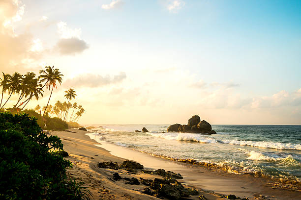 Ocean Strand am Morgen – Foto