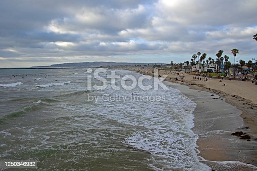 Ocean Beach and pier , San Diego, CA