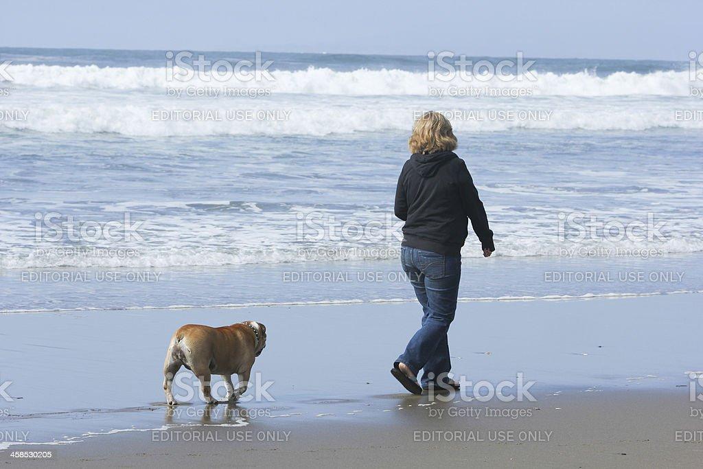 Ocean Beach in San Francisco, California royalty-free stock photo