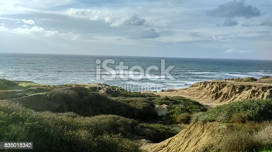 Sunset Cliffs in Ocean Beach California