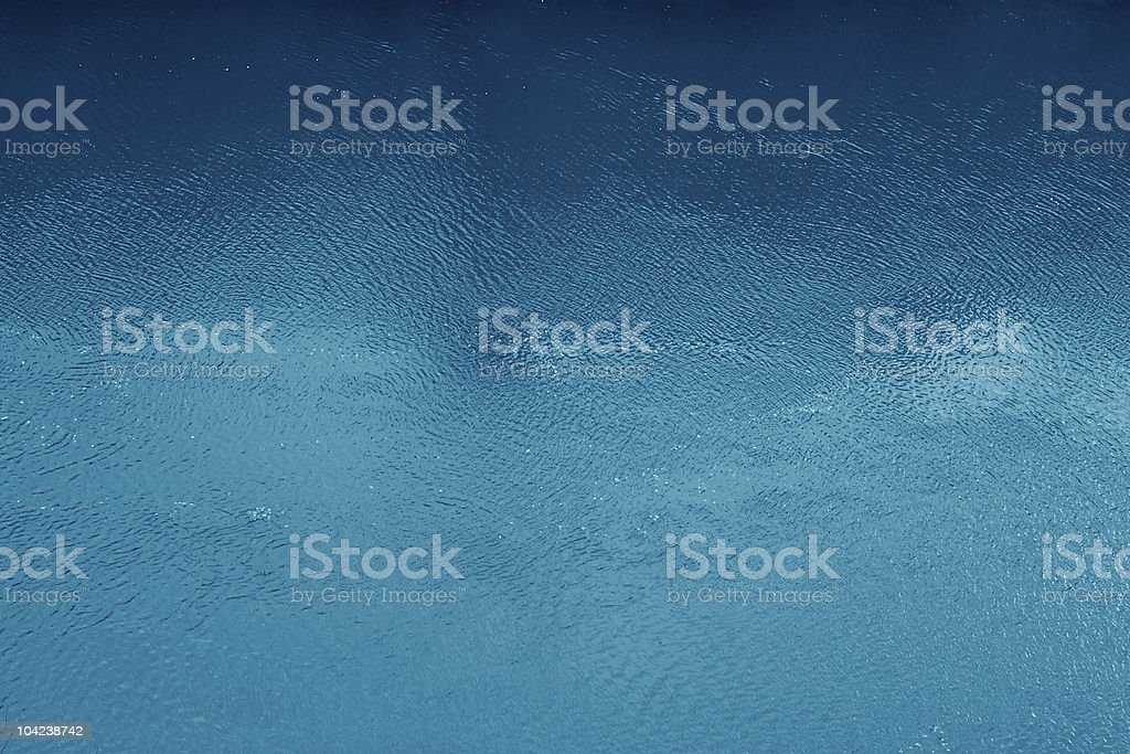 Ocean Blue Water Surface royalty-free stock photo