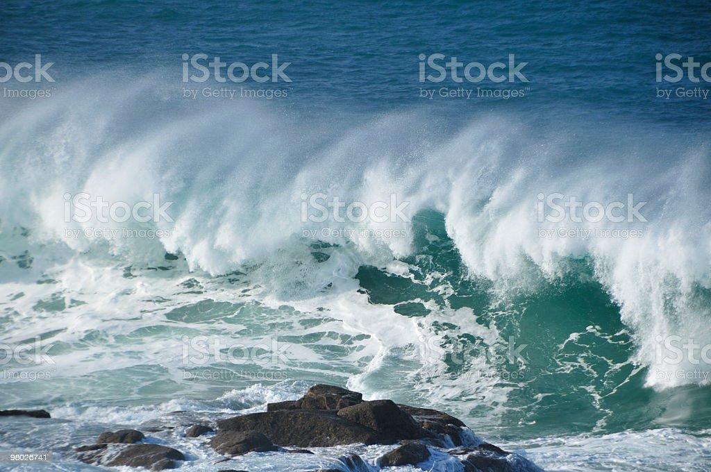 Ocean breaker. royalty-free stock photo