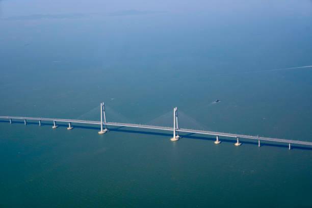 okyanus köprüsü - guangdong i̇li stok fotoğraflar ve resimler