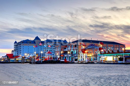 Ocean City is an Atlantic resort town in Worcester County, Maryland. Ocean City is a major beach resort area along the East Coast of the United States.