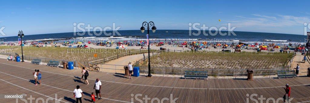 Ocean City, New Jersey stock photo