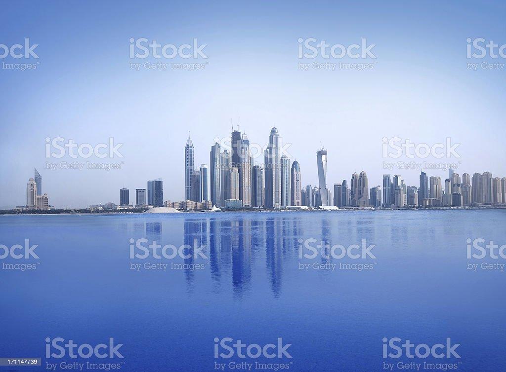 Ocean Cityscape royalty-free stock photo