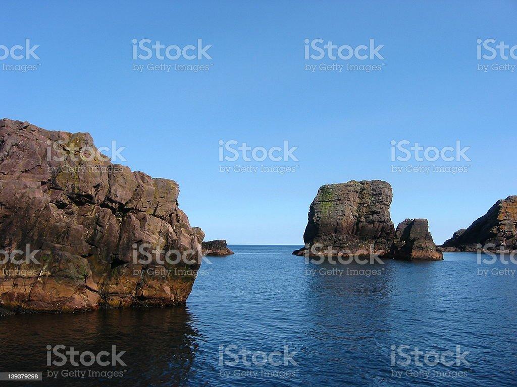 Ocean Cliffs royalty-free stock photo