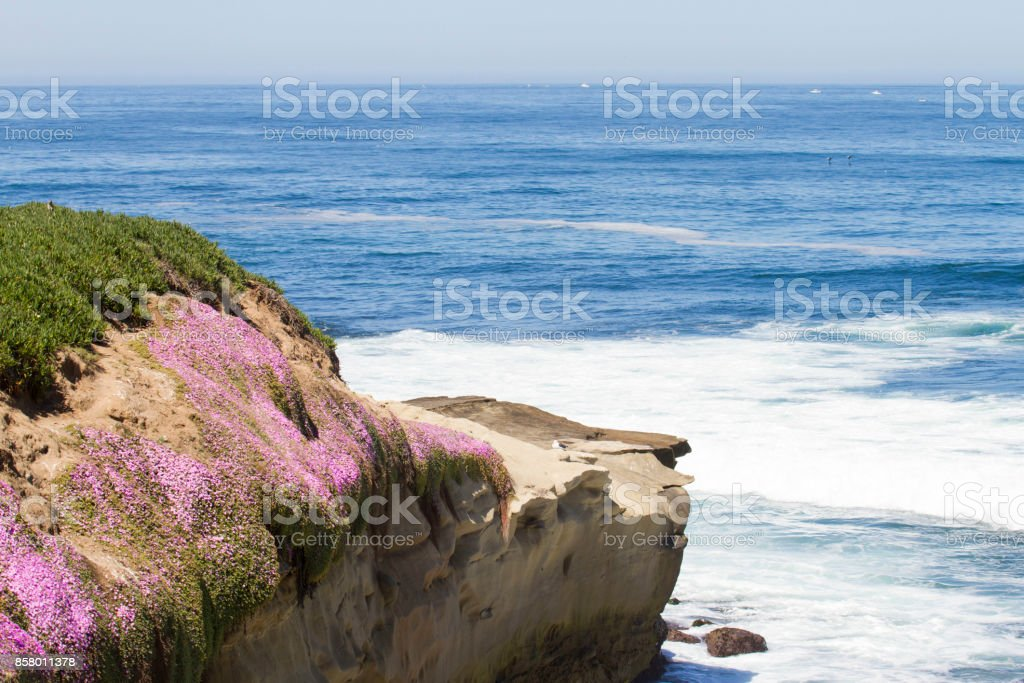 Ocean Cliffs stock photo