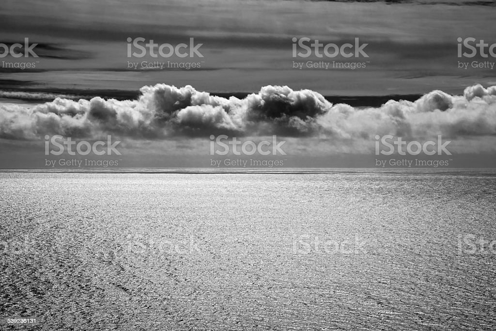 Ocean Cloudscape at Dusk royalty-free stock photo