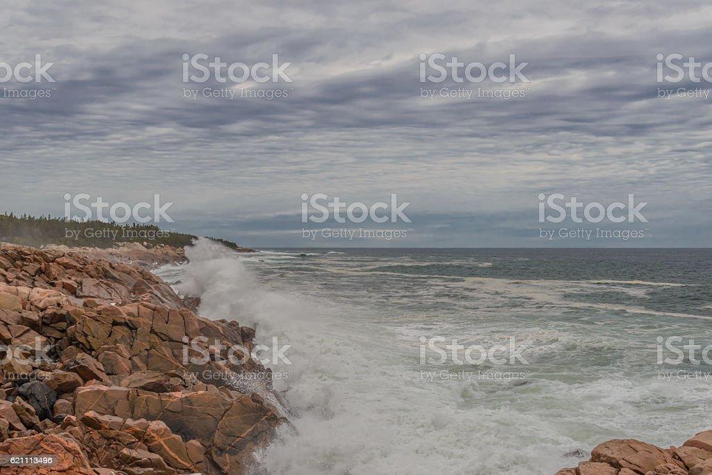 Ocean coast stock photo