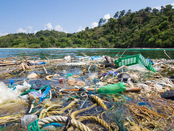 ocean debris - major ocean stock pictures, royalty-free photos & images