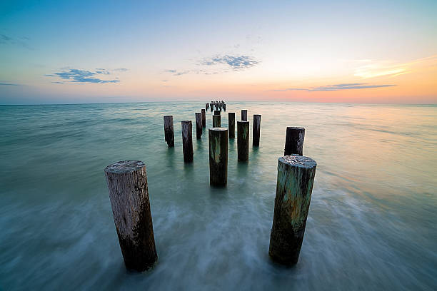 Ocean dream from trip to Florida naples florida stock pictures, royalty-free photos & images