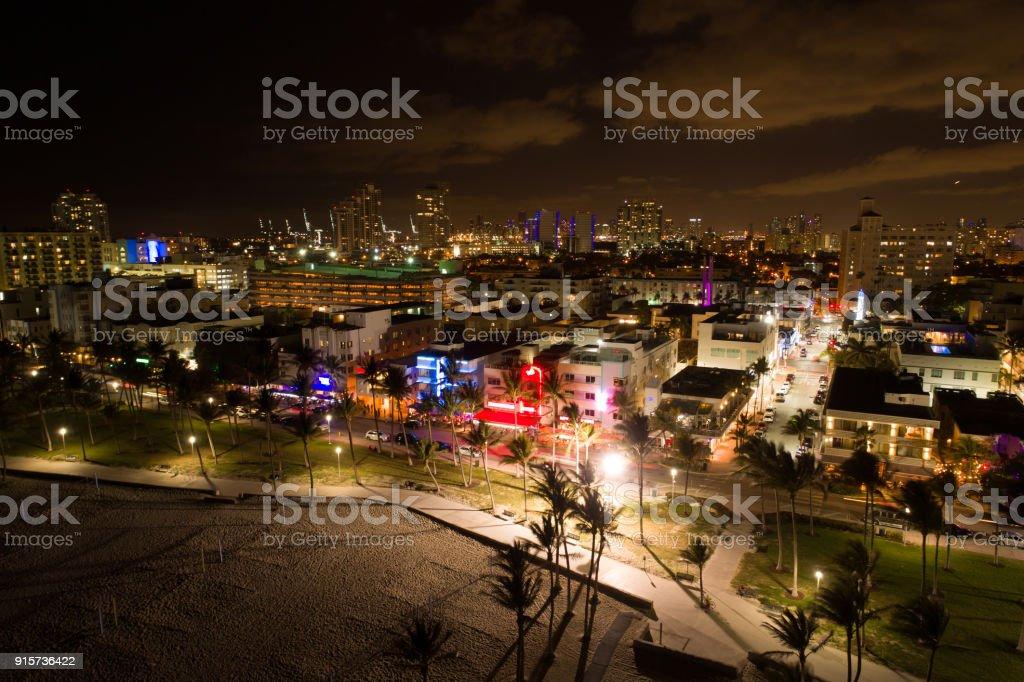 Hôtels Ocean Drive de Miami Lummus Park et déco - Photo