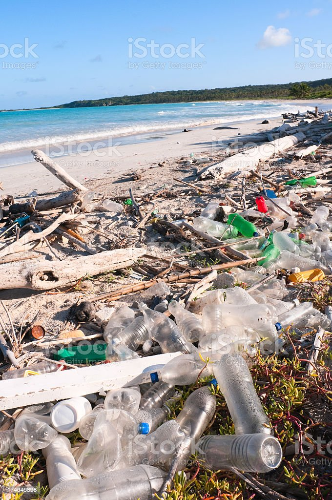Ocean Dumping royalty-free stock photo
