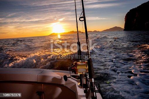1094918172istockphoto Ocean Fishing Reels Dawn or Dusk 1089752376