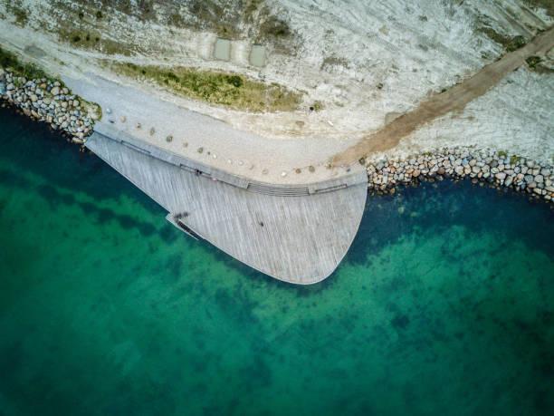 ocean från ovan - drone copenhagen bildbanksfoton och bilder