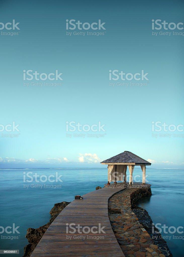 Ocean Jetty royalty-free stock photo