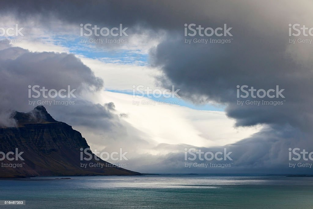 Ocean landscape - Iceland stock photo