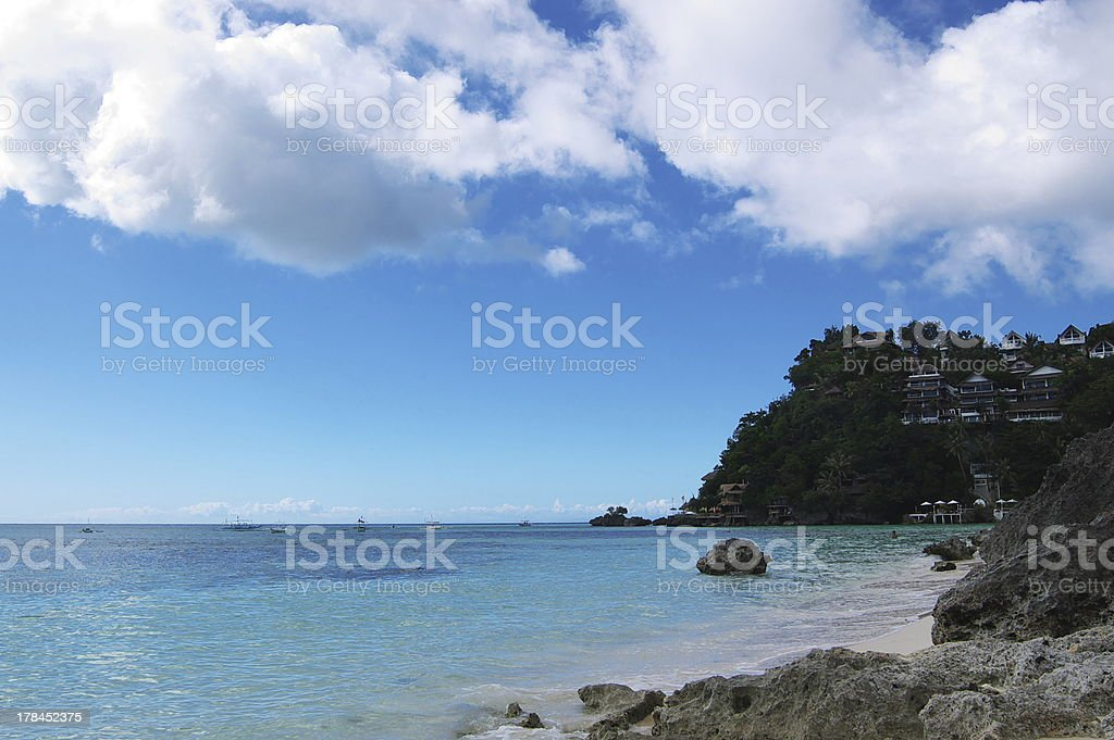 Ocean landscape royalty-free stock photo