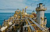 """petroleum, ocean oil rig"""