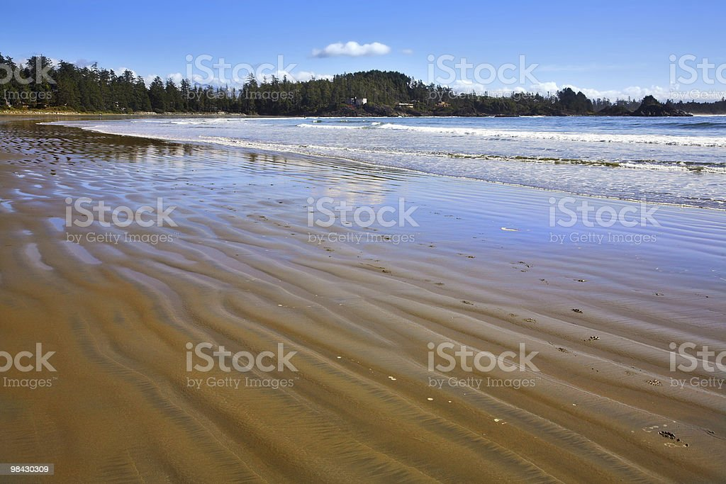 Ocean outflow in Canada royalty-free stock photo