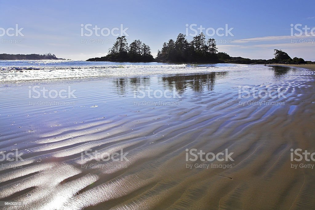 Ocean outflow royalty-free stock photo
