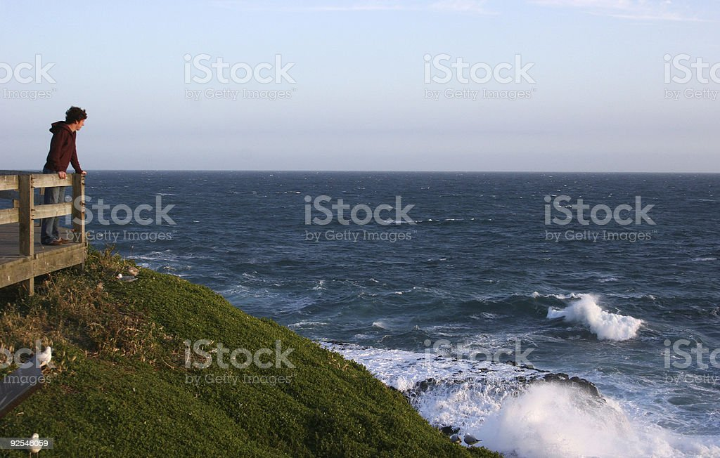 Ocean Overlook royalty-free stock photo