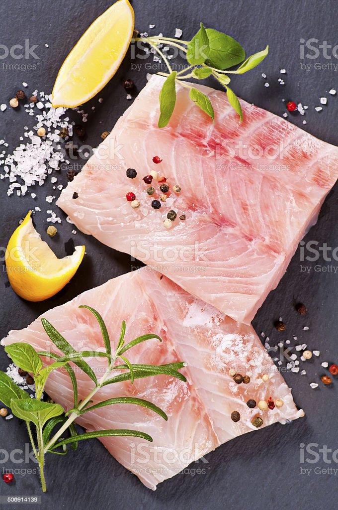 Ocean Perch Fillet stock photo