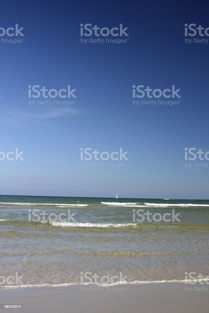 Sull'oceano foto stock royalty-free