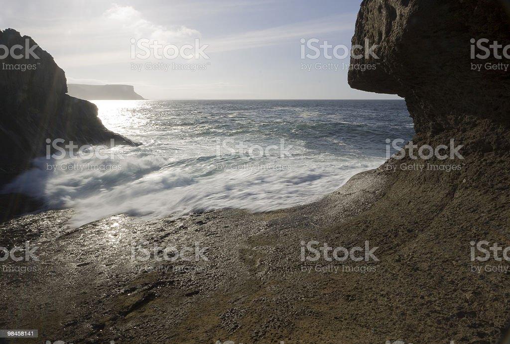 Sull'oceano foto stock royalty-free