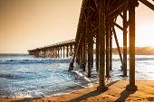 Pier in Sam Simeon California USA