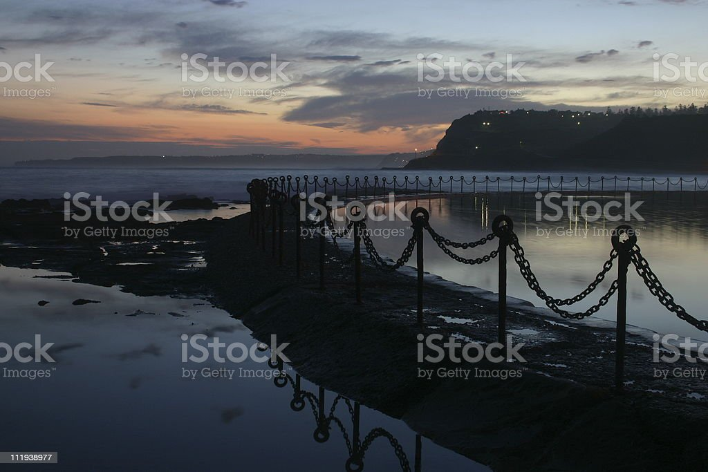 ocean pool royalty-free stock photo