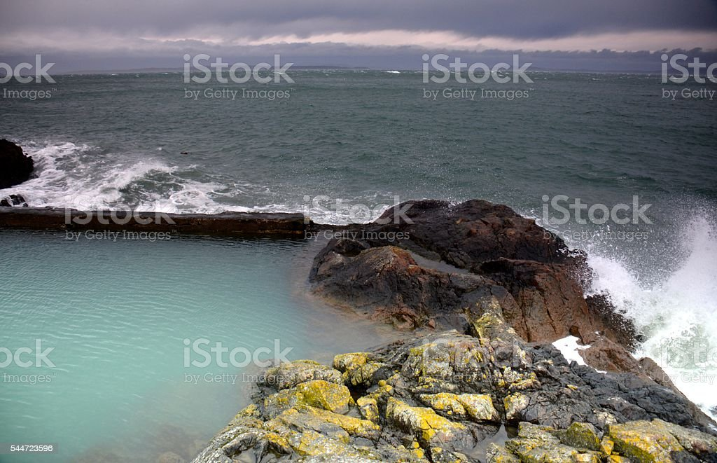 Ocean Pool royalty-free stock photo