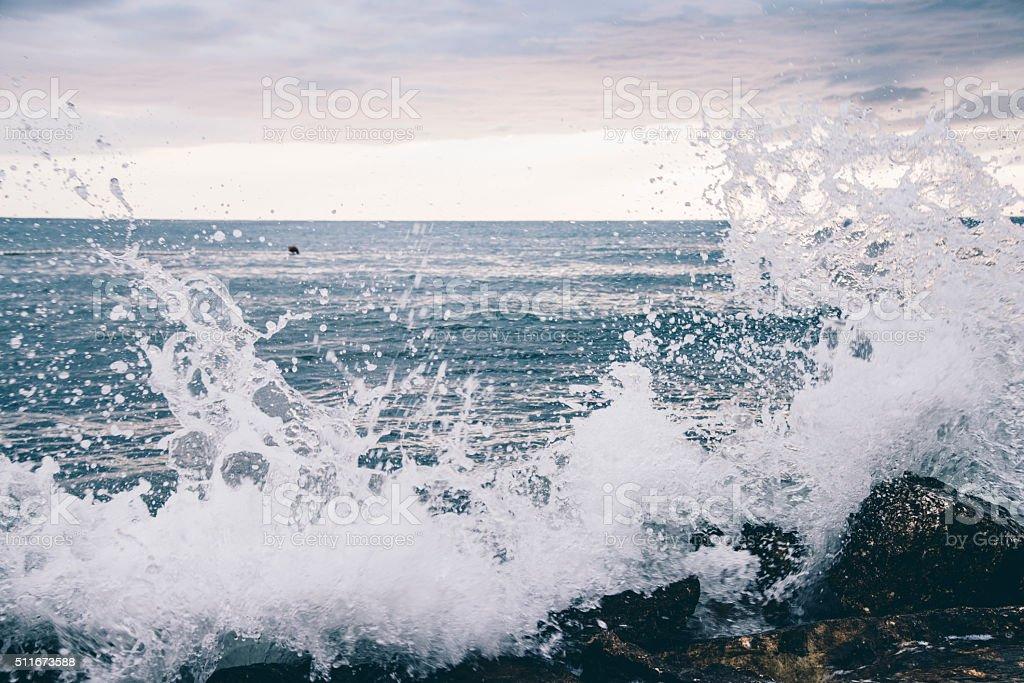 Ocean rage stock photo