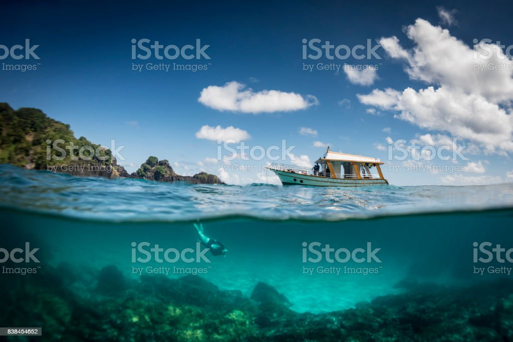 Ocean realm stock photo