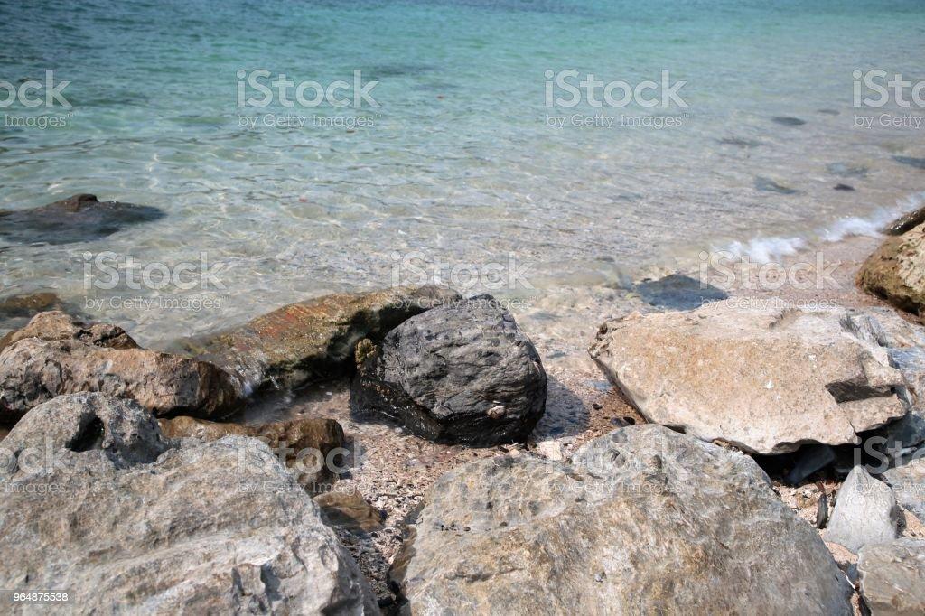 Ocean Rocks royalty-free stock photo