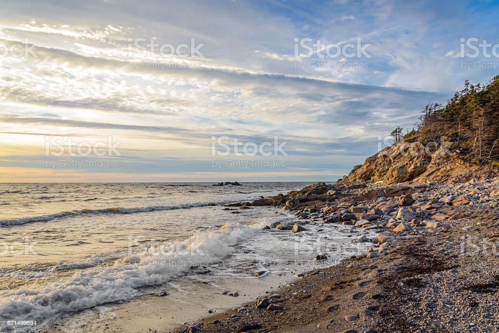 Ocean shore Lizenzfreies stock-foto