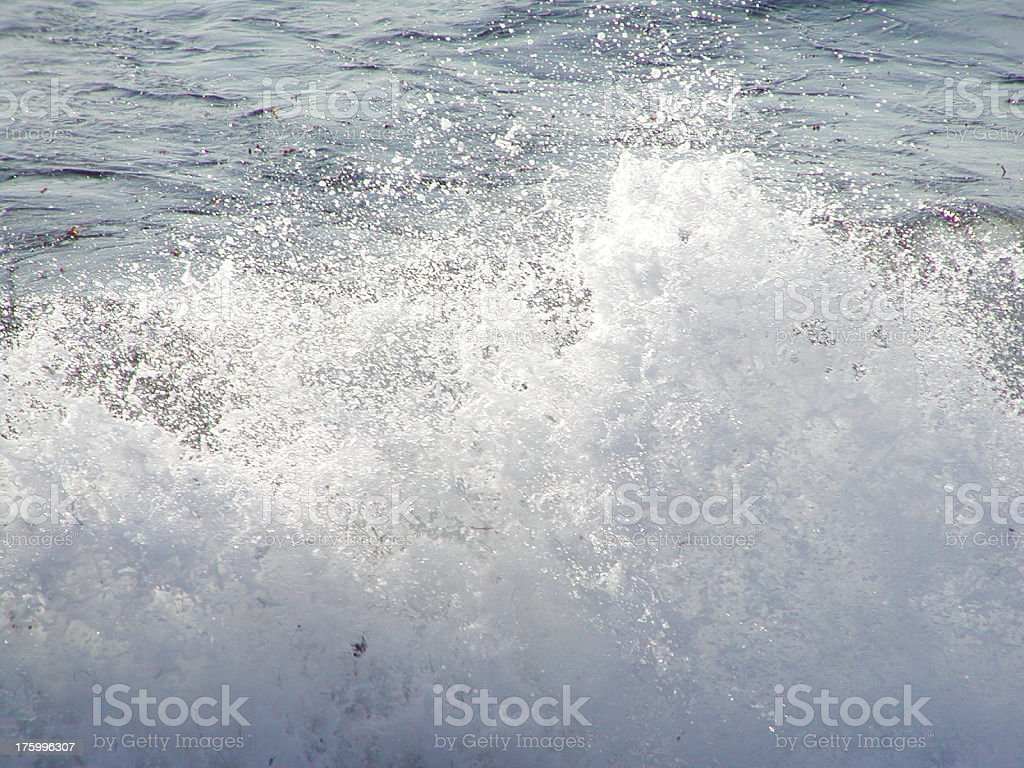 Ocean Spray royalty-free stock photo