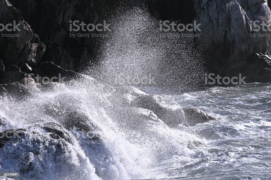 Ocean Spray royalty-free stock photo