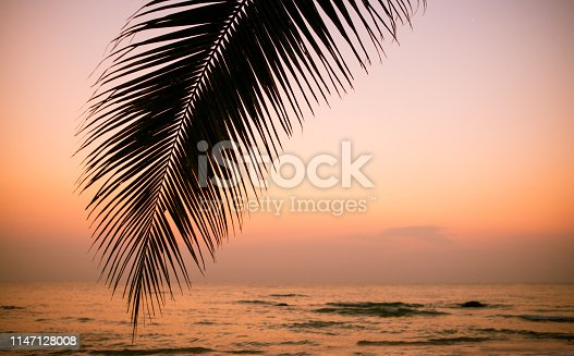 istock ocean sunset, rest and vacation 1147128008